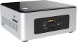 Intel (Intel® Celeron® N3050, 2.16 GHz, 1хDDR3L SODIMM 1.35V(up to 1600MHz/8Gb),  Intel® HD Graphics (VGA + HDMI), 4xUSB3.0, 1x2.5HDD, GBL, WiFi+BT, SDXC card slot, TOSLINK, Silver/Black,VESA, powercord EU, IR-port, Kensington Lock, 940289) BOXNUC5CPYH