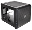 Thermaltake (Thermaltake Case Core V21, Black, Window, w/o PSU, mITX, support standart ATX PSU) CA-1D5-00S1WN-00