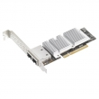 ASUS (PEB-10G/57840-2T 10GbE Network Adapter, Dual Port (RJ-45), BCM 57840S, PCI-E Gen3 x8, PXE boot, iSCSI boot)