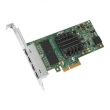 Сетевая карта Dell i350 QP Gigabit Ethernet 1Gb,Low Profile - KIT (540-BBDV) DELL