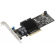 ASUS (Контроллер PIKE II 3108-8I/16PD/2G, 8-port SAS-3, 12 Gbit/s, RAID 0, 1, 10, 5, 6, 50, 60 (LSI SA3108), Cache 2 GB, Max. 16 Devices)