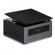 Intel (Nettop Intel NUC, Intel Core i3 7100U, 2.4 GHz, 2xDDR4 SODIMM (1.2V up to 2133MHz/32Gb), VGA Intel HD Graphics 620(DP+HDMI 4K), 4xUSB3.0, 1x m.2 SSD, 1x2.5HDD, GBL, WiFi+BT, microSDHC, Black,VESA, powercord EU, IR-port, Kensington Lock, 950967) BOX