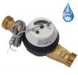 Счетчик холодной воды Тепловодомер ВСХНд-40 IP 68 с импульсным выходом, DN 40, IP68  крыльчатый