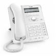 SNOM D715 White Настольный IP-телефон. 4 учетные записи SIP, Графический монохромный экран 3,2', 5 кнопок с LED индикаторами, 2-порта 10/100/1000, USB 2.0, PoE, Сенсорная функция поднятия трубки, Цвет белый, Блок питания приобретается отдельно (Snom) D715