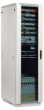 Шкаф телекоммуникационный напольный 33U (600x600) дверь стекло ШТК-М-33.6.6-1ААА (3 места) ЦМО