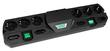 сетевой фильтр MOST TRG черный, 6+4 розеток, 2 метра