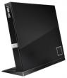 ASUS (ASUS 3D BLU-RAY ext, BD-ROM+DVD-RW BLACK RET. Slim.USB 2.0) SBC-06D2X-U/BLK/G/AS